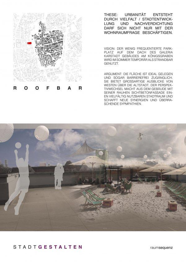stadtvision II / roofbar