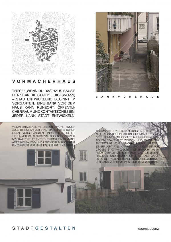 stadtvision III / vormacherhaus